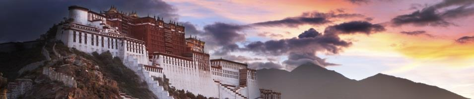 Kingdoms of the Clouds Tours 2017 - 2018 -  Potala Palace