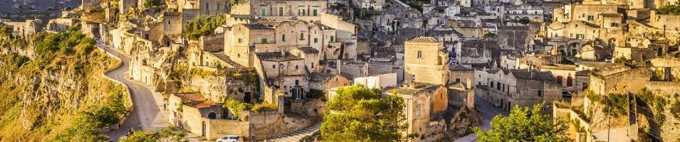 The Pearls of Puglia Tours 2019 - 2020 -  Matera