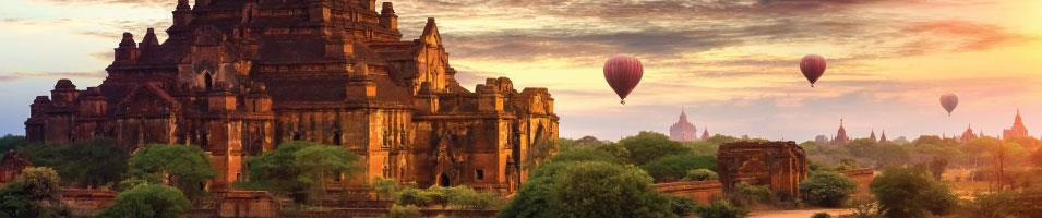 Myanmar in Style Tours 2019 - 2020 -  Bagan Scenery