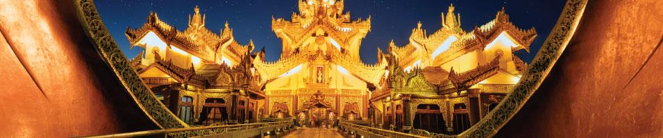 Mysteries of Myanmar Tours 2019 - 2020 -  Myanmar Palace