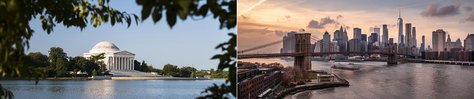 Discover New York City & Washington, D.C. In Luxury  Tours 2020 - 2021 -  New York City & Washington, D.C.