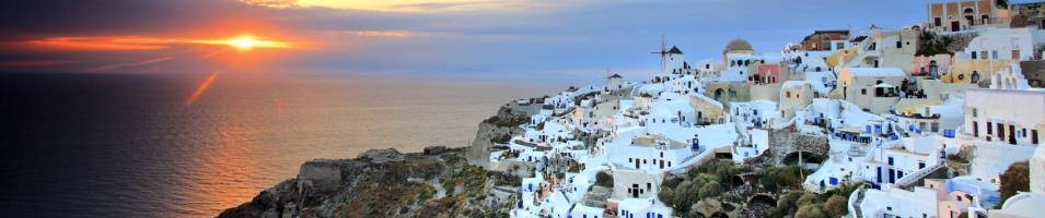 Greek Island Honeymoon Tours 2017 - 2018 -  Santorini