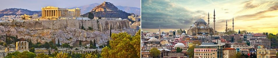 Greece & Turkey Highlights Tours 2019 - 2020 -  Athens and Istanbul