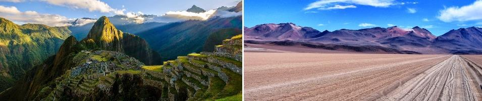 Peru, Bolivia and the Atacama Desert Tours 2019 - 2020 -  Peru, Bolivia & Chile
