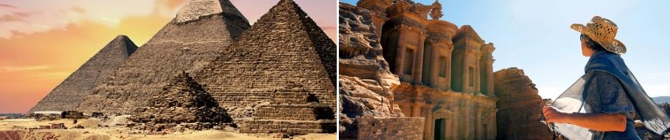 Egypt & Jordan Exclusive Tours 2017 - 2018 -  Egypt and Jordan
