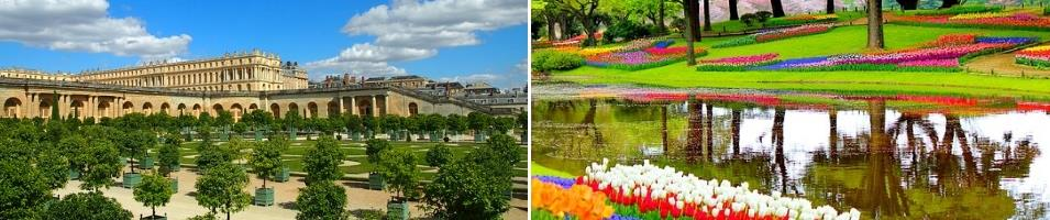 Paris, Amsterdam & Tulip River Cruise Tours 2017 - 2018 -  Versailles and Tulips
