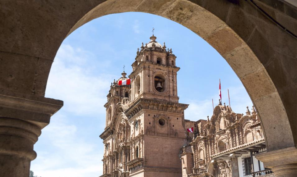 Explore Cusco's main square and colonial architecture.