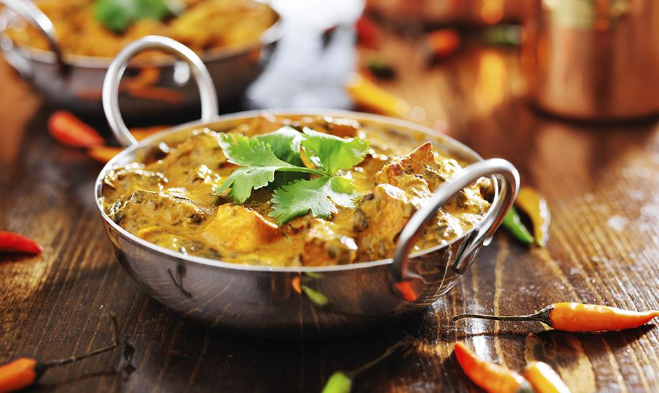 Sample deliciously authentic cuisine throughout India.