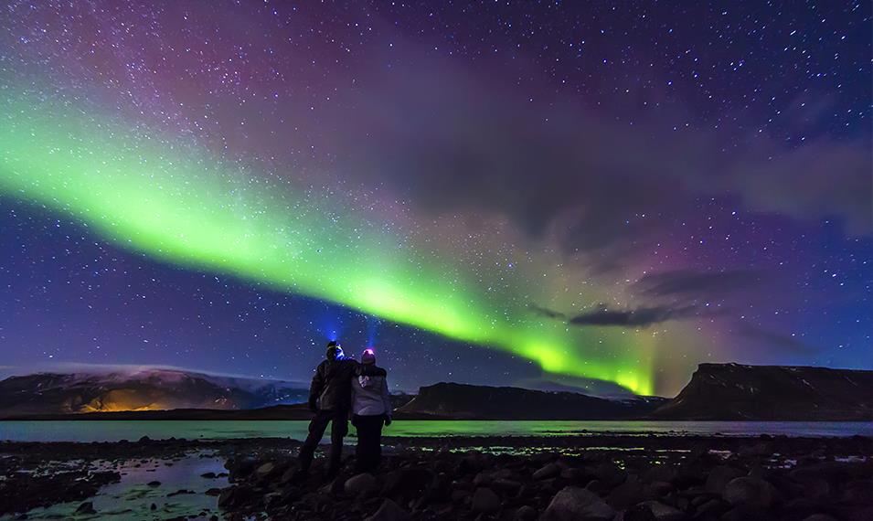 If you're visiting during the winter months, spend a night searching for the Northern Lights.