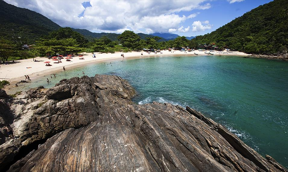 Soak up the sun on the beaches of Paraty.