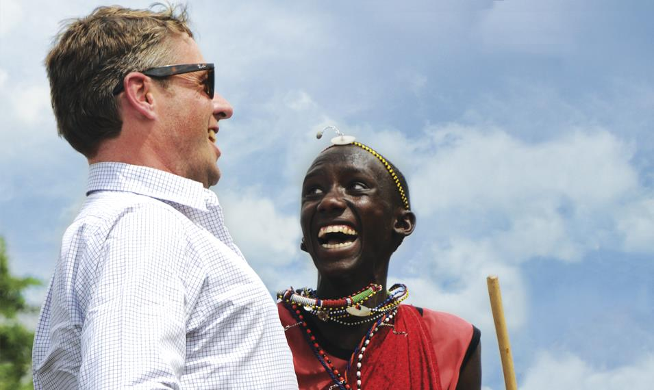 Immerse yourself in the local Maasai culture.