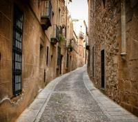 Caceres Narrow Alley