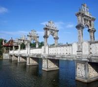 Bali Off the Beaten Track Tours 2019 - 2020 -  Candidasa - Water Palace Bridge