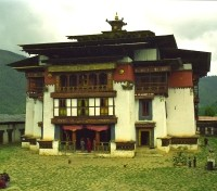 Bhutan Grand Journey Tours 2017 - 2018 -  Gangteng Gonpa
