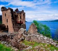 Uquhart Castle at Loch Ness