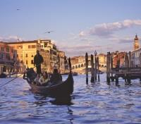 Rome, Florence & Venice Signature Tours 2017 - 2018 -  Gondola on the Grand Canal