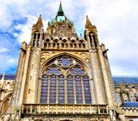 Paris and the Historic WWII Sites of Normandy Tours 2017 - 2018 -  Bayeux Cathedral