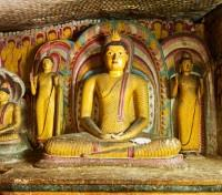Sri Lanka Signature Tours 2019 - 2020 -  Dambulla Rock Cave Temple Buddha