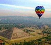 Taste of Mexico: Food, Wine & Tequila Tours 2018 - 2019 -  Hot Air Balloon over Teotihuacan