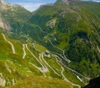 Switzerland Signature with Glacier Express Train Tours 2020 - 2021 -  Winding roads of the Grimsel Pass