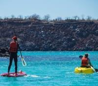 Galapagos by Land & Sea Tours 2020 - 2021 -  Water Sports on the Itabaca Channel