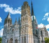 Paris and the Historic WWII Sites of Normandy Tours 2019 - 2020 -  Rouen Cathedral
