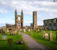 Scotland's Golf & Whisky Trail Tours 2019 - 2020 -  St Andrews Cathedral Ruins